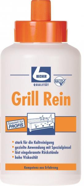 Becher Grill Rein